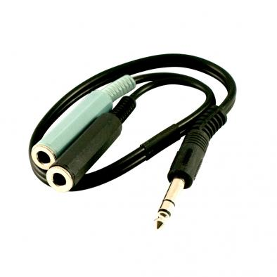 "Graph Tech® 1/4 in. Stereo ""Y"" Cable"
