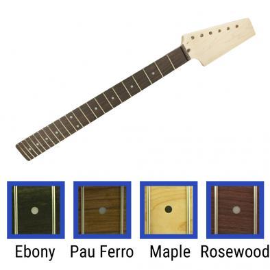 WD® Pre-Drilled Paddle Headstock 22 Fret Neck For Fender® Telecaster® 22 Fret Neck Pocket