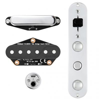 Fishman Fluence Signature Series Greg Koch Gristle-Tone Pickup Set For Fender Telecaster
