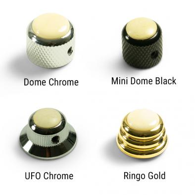 Q-Parts Knobs With Ivory Inlay