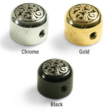 Q-Parts Knobs With Vine Inlay