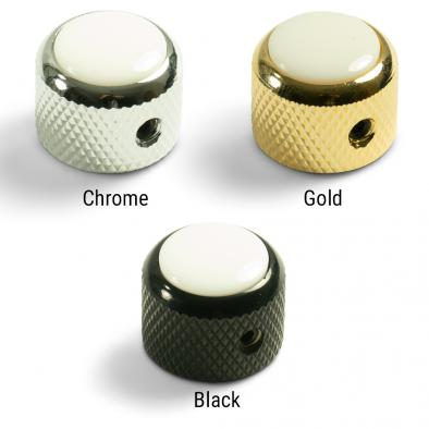Q-Parts® Knobs With White Inlay