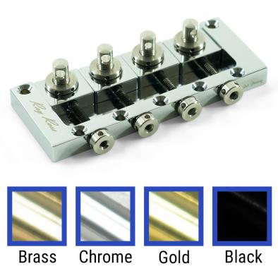 Ray Ross® Saddle-Less 4 String Bass Bridge