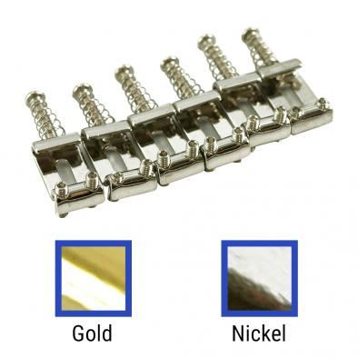 WD® Replacement Vintage Tremolo Saddle Set