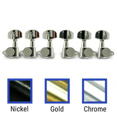 WD 3 Per Side Diecast Tuning Machines