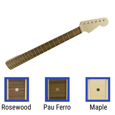 WD® Licensed By Fender® Replacement 21 Fret Neck For Stratocaster® Fat D