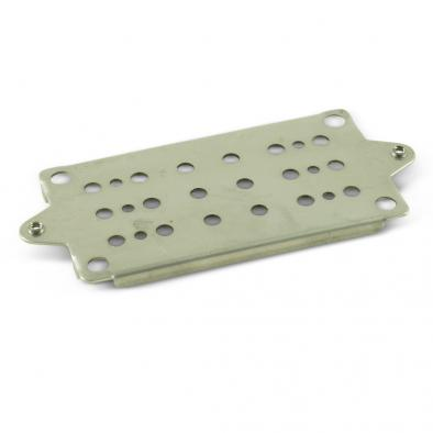 WD Humbucker Pickup Baseplate Stainless 49.2mm, 50, or 52mm Spacing