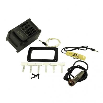 L.R. Baggs Stagepro Anthem Guitar Pickup + Microphone With Side-Mount Preamp For Acoustic Guitar