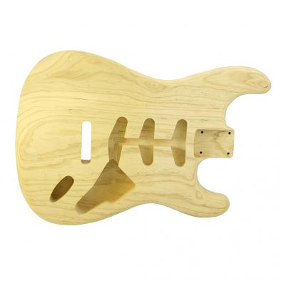 WD® Unfinished Replacement Body For Fender® Stratocaster® - Ash/1 Piece - 3 lbs 12 oz. Max Weight