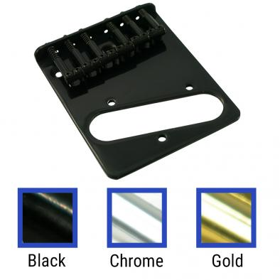 WD® Replacement Top Mount Bridge For Fender® Telecaster®