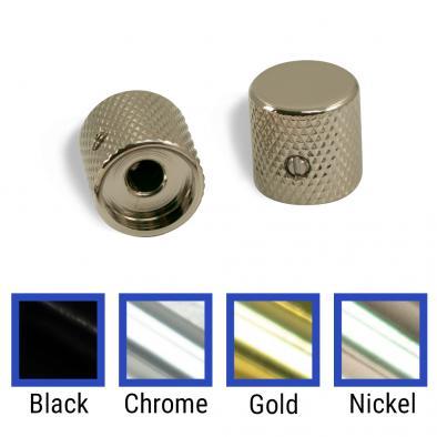 WD Brass Or Aluminum Barrel Knob Set Of 2 With 1/4 in. Internal Diameter