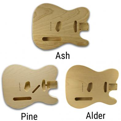WD® Unfinished Replacement Body For Fender® Telecaster®