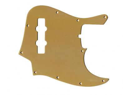 Tone-Guard Replacement Anodized Aircraft Aluminum Pickguard For Fender Jazz Bass 4 String
