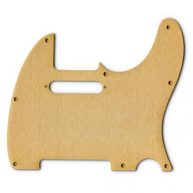 Tone-Guard® Replacement Anodized Aircraft Aluminum Pickguard For Fender® Telecaster® USA Or Made In Mexico