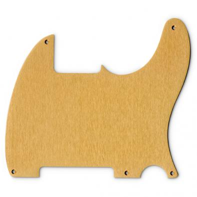 Tone-Guard® Replacement Anodized Aircraft Aluminum Pickguard For Fender® Telecaster® Esquire