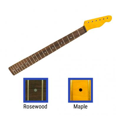 WD® Licensed By Fender® Replacement 21 Fret Neck For Telecaster® Soft V