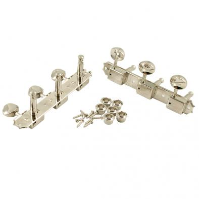 Grover® 3-On-A-Plate Vertical Vintage Nickel