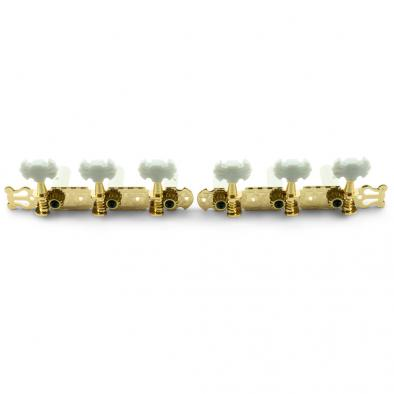 WD 3-On-A-Plate Classical Tuning Machines Gold
