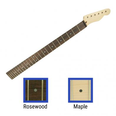 WD® Licensed By Fender® Replacement Baritone 24 Fret Neck For Telecaster®