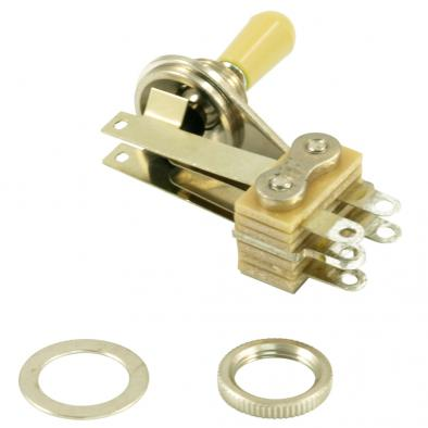 Switchcraft® 3 Position Right Angle Toggle Switch Exact Replacement For Gibson® SG® #12013