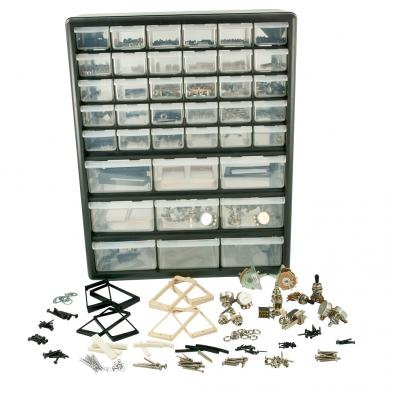 WD® Guitar Shop In A Box Guitar Parts Assortment