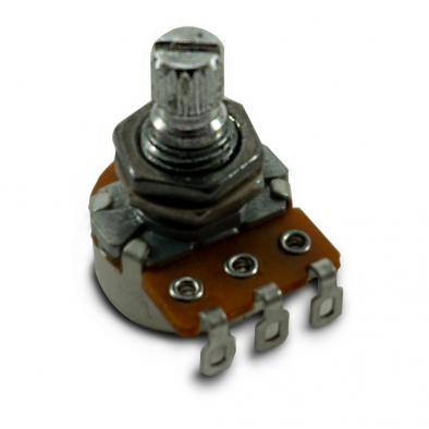 Alpha Metric Mini Potentiometer With Short Bushing 500 kohm