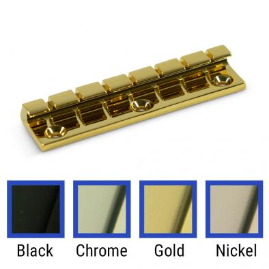 WD® Brass 7 String Flat Mount Tailpiece