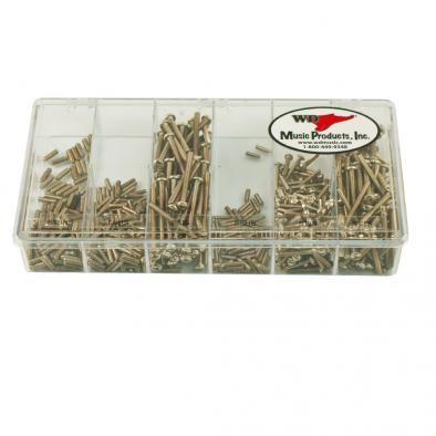 WD® Vintage Screw Shop In A Box Guitar Saddle Screws Assortment