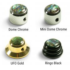 Q-Parts® Knobs With Abalone Inlay