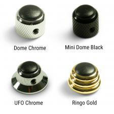 Q-Parts® Knobs With Ebony Inlay