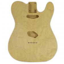 WD® Unfinished Alder Replacement Body For Fender® Telecaster® with Flame Maple Top
